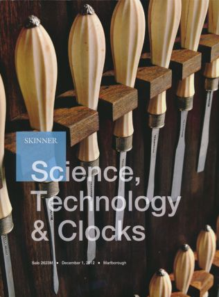 Science, Technology & Clocks, December 1, 2012. Sale 2623M. Skinner, Auction Catalogue