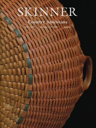 Country Americana, February 19, 2005. Sale # 2268. Skinner, Auction Catalogue