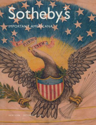 Sotheby's Important Americana: October 10, 2002. Sale # 7825. Sotheby's, Auction Cataloge