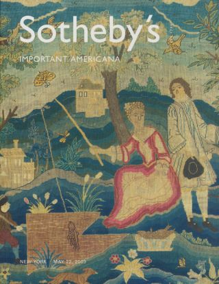Sotheby's Important Americana: Thursday, May 22, 2003. Sale # 7905. Sotheby's, Auction Cataloge