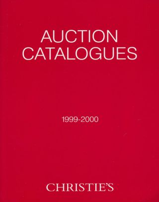 Auction Catalogues 1999-2000. Christie's