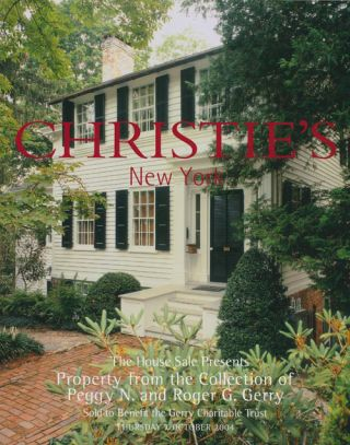 The House Sale Presents Property from the Collection of Peggy N. and Roger G. Gerry; Sold to...