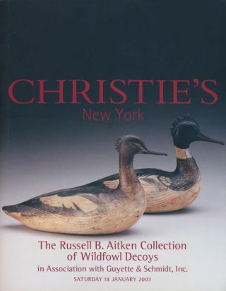 The Russell B. Aitken Collection of Wildfowl Decoys in Association with Guyette & Schmidt, Inc....