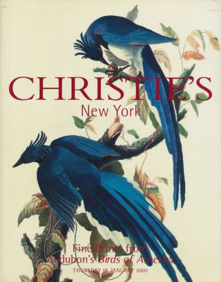 Fine Prints from Audubon's Birds of American; Thursday 18 January 2001. Sale # 9694. Christie's