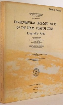 Environmental Geologic Atlas of the Texas Coastal Zone - Kingsville Area. L. F. Brown Jr., T. J....
