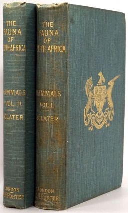 Tha Fauna of South Africa: Mammals Volume 1 and Mammals Volume 2. W. L. Sclater