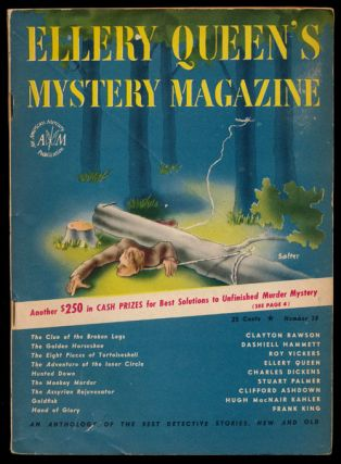 Ellery Queen's Mystery Magazine Volume 9, January 1947, Number 38 An Anthology of Detective...