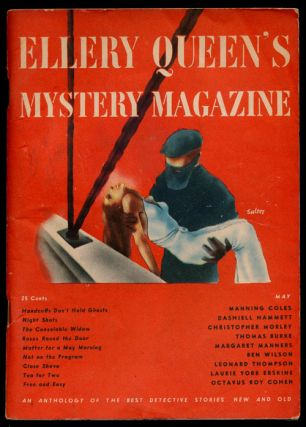 Ellery Queen's Mystery Magazine Volume 7, May 1946, Number 30 An Anthology of Detective Stories,...