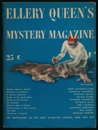 Ellery Queen's Mystery Magazine Volume 5, November 1944, Number 19 An Anthology of Detective...