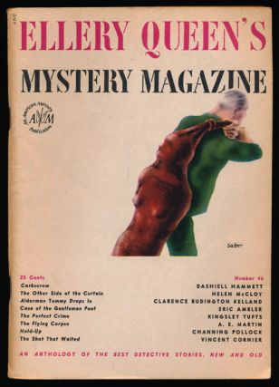 Ellery Queen's Mystery Magazine Volume 10, September 1947, Number 46 An Anthology of Detective...