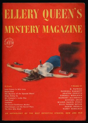 Ellery Queen's Mystery Magazine Volume 9, April 1947, Number 4 An Anthology of Detective Stories,...