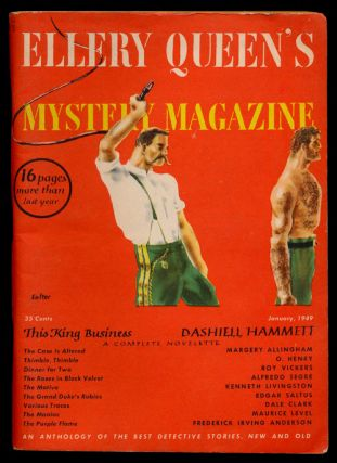 Ellery Queen's Mystery Magazine Volume 13, January 1949, Number 62 An Anthology of Detective...