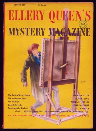 Ellery Queen's Mystery Magazine Volume 19, September 1952, Number 106 An Anthology of Detective...