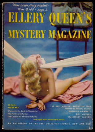 Ellery Queen's Mystery Magazine Volume 15, February 1950, Number 75 An Anthology of Detective...