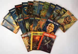 Astounding Science Fiction February 1950 - December 1951, Run of 23 Sequential Complete Issues