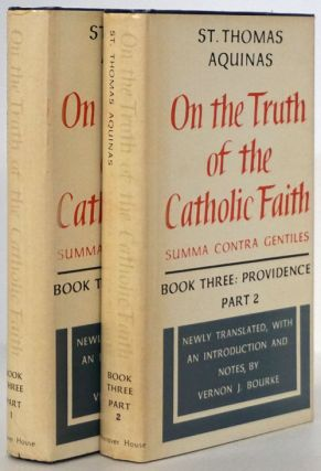 On the Truth of the Catholic Faith Book Three: Providence Parts I and II (2 Volume Set). St....