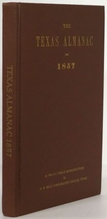 Texas Almanac for 1857. A. H. Belo Corporation