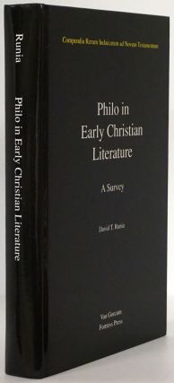 Philo in Early Christian Literature A Survey