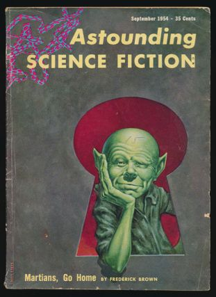 Astounding Science Fiction September 1954. John Campbell, Frederic Brown