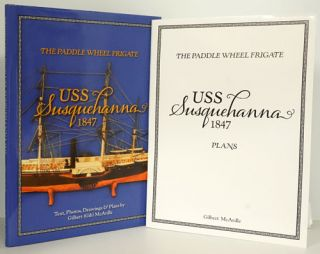 The Paddle Wheel Frigate: USS Susquehanna 1847 (A Separate Folder of 10 Large Fold-Out Plans...