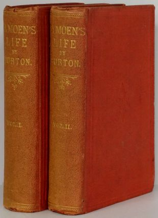 Camoens: His Life and His Lusiads. (Two Volume Set). Richard F. Burton