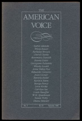 The American Voice. Isabel Allende, Marge Piercy, Carolyn See, Leon Rooke
