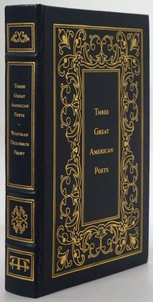 Three Great American Poets: Leaves of Grass (Whitman) , Poems (Dickenson) , Three Books (A Boy's...