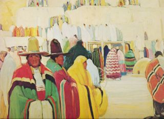 Picturesque Images from Taos and Santa Fe An Exhibition Sponsored by the First National Bank of...